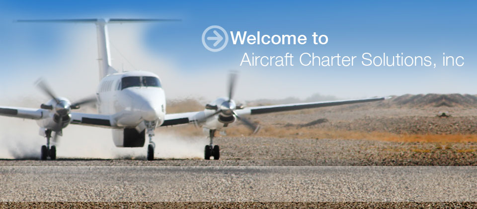 Welcome to Aircraft Charter Solutions, Inc.
